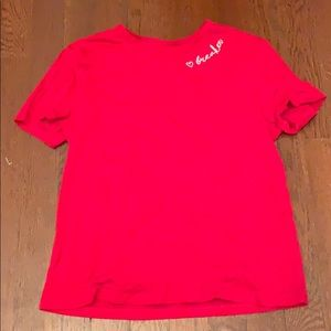 Divided Red shirt in size xs!